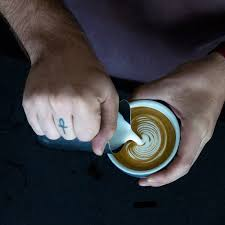 latte art hipst